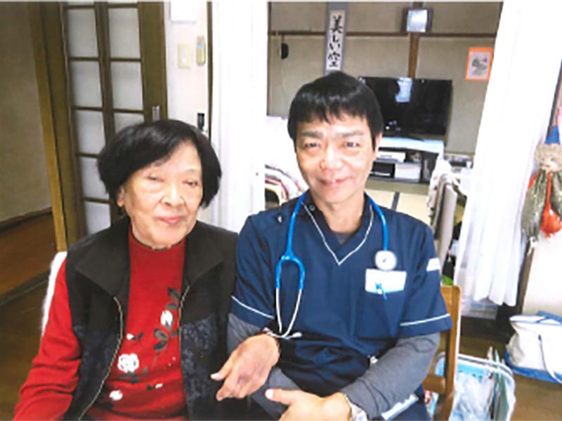 訪問診療の様子